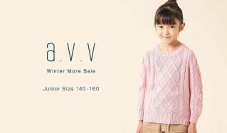 a.v.v Kids -Winter More Sale Junior Size 140-160-(アーヴェーヴェーキッズ)のセールをチェック