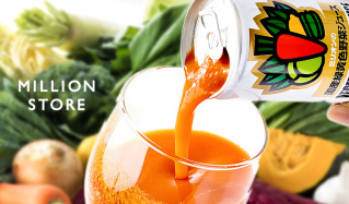 MILLION STORE-22種類の国産緑黄色野菜ジュース-のセールをチェック