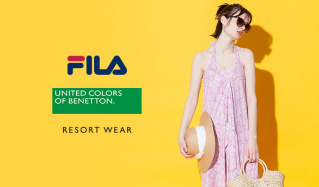 FILA/BENETTON RESORT WEAR WOMENのセールをチェック