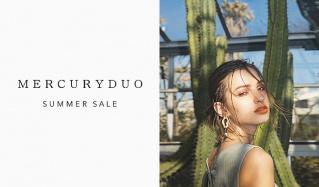 MERCURYDUO -SUMMER SALE-(マーキュリーデュオ)のセールをチェック