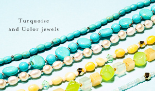 Turquoise and Color jewels(パーランジュ)のセールをチェック