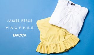 JAMES PERSE/MACPHEE/BACCAのセールをチェック