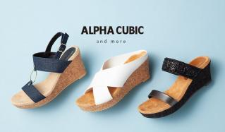 ALPHA CUBIC and moreのセールをチェック