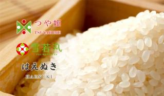 精米をすぐにお届け!お米農家直送   雪若丸・つや姫・はえぬき  -特別栽培米-のセールをチェック