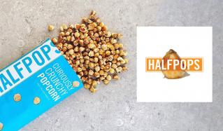 ふしぎな食感のポップコーン-HALFPOPS-のセールをチェック