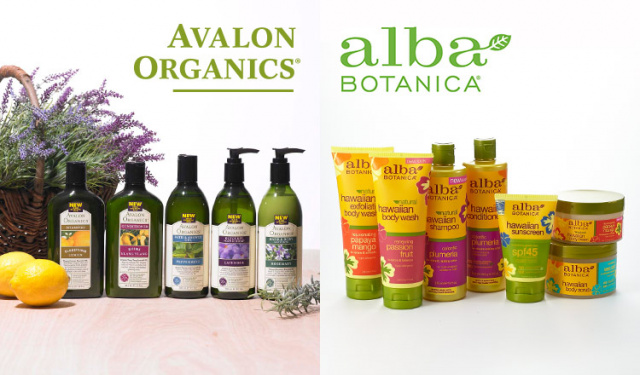 AVALON ORGANICS/ALBA BOTANICA