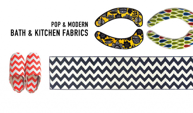 POP & MODERN -BATH & KITCHEN FABRICS