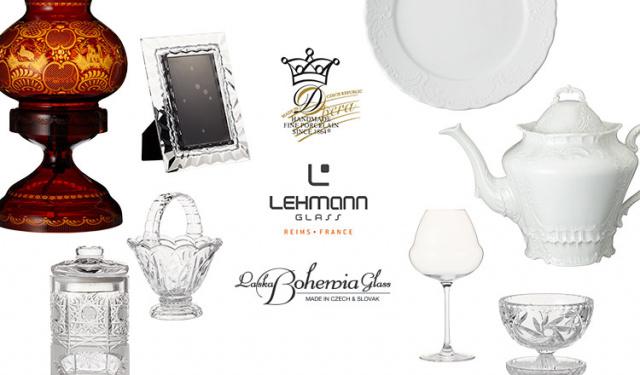 BOHEMIA GLASS/LEHMANN/OPERA WHITE