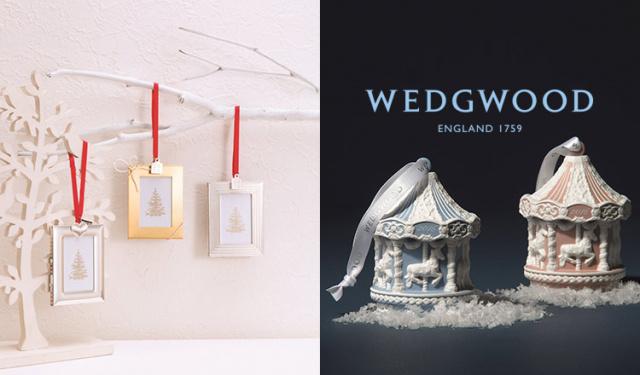 WEDGWOOD-テーブルウェア & クリスマスオーナメント-