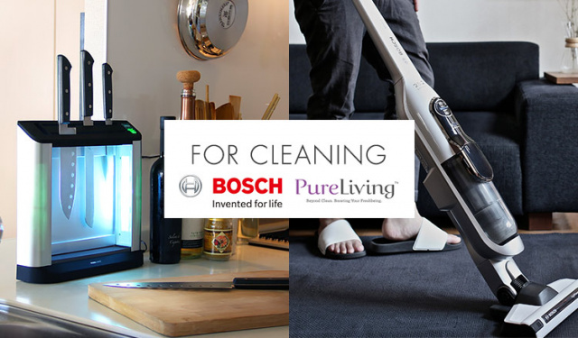 PURE LIVING/BOSCH-FOR CLEANING-
