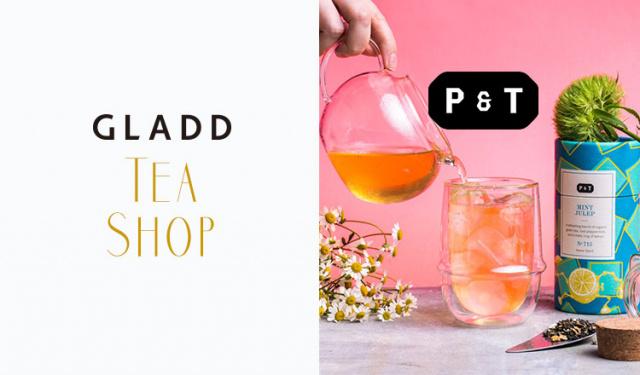 自然にもカラダに優しい紅茶 P & T(ペーパーアンドティー)