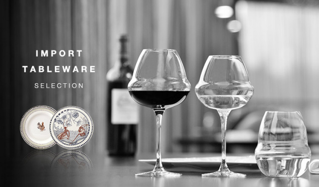IMPORT TABLEWARE SELECTION