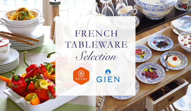 FRENCH TABLEWARE SELECTION