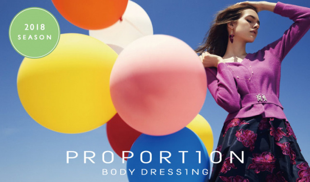 PROPORTION BODY DRESSING -2018 SEASON CLEARANCE-