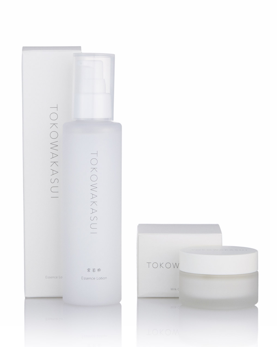 TOKOWAKASUI / Essence Lotion + milk cream set ○ Ts-004