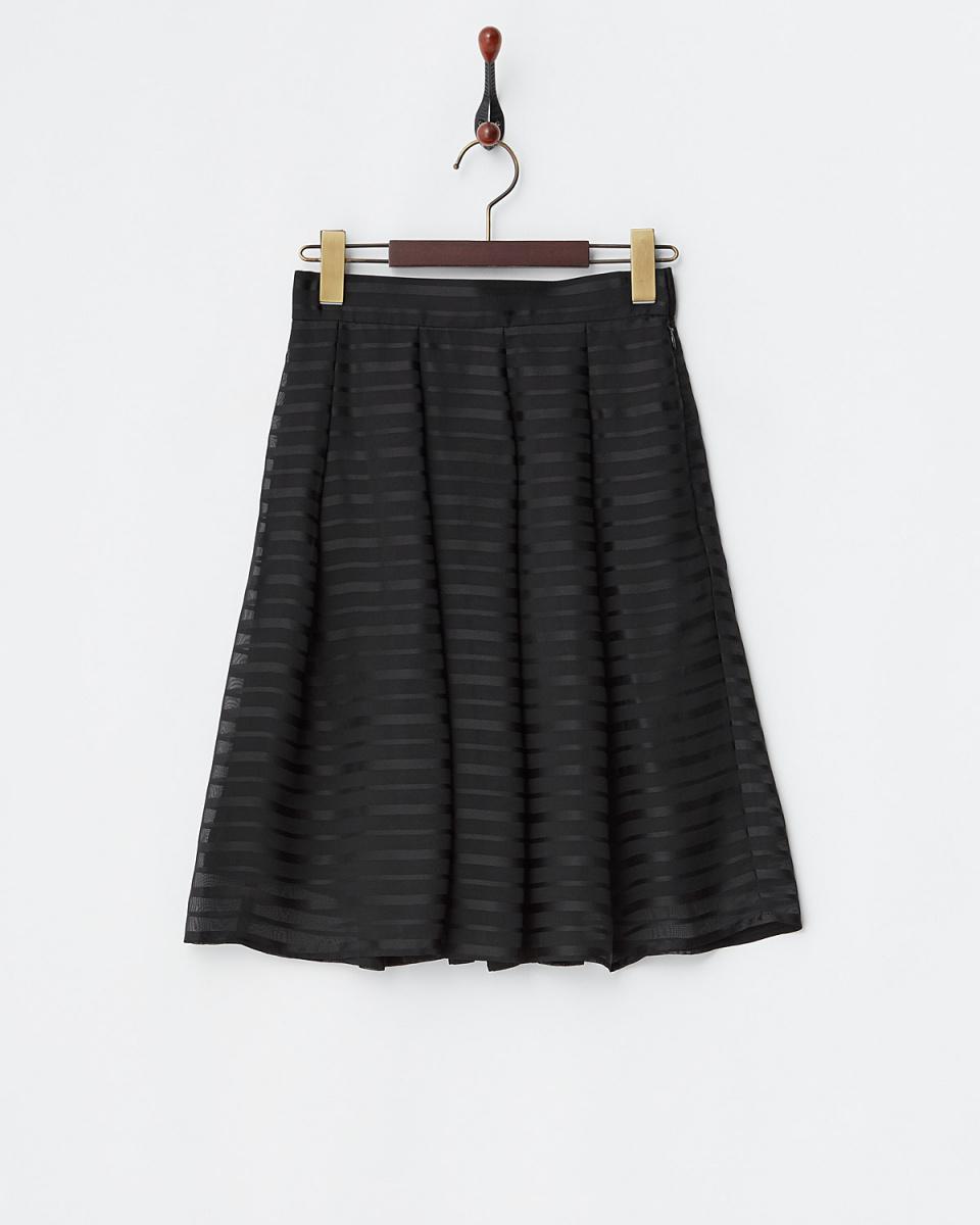 第二個場合人/黑色邊框\n雪紡喇叭裙○61-1893 /女裝