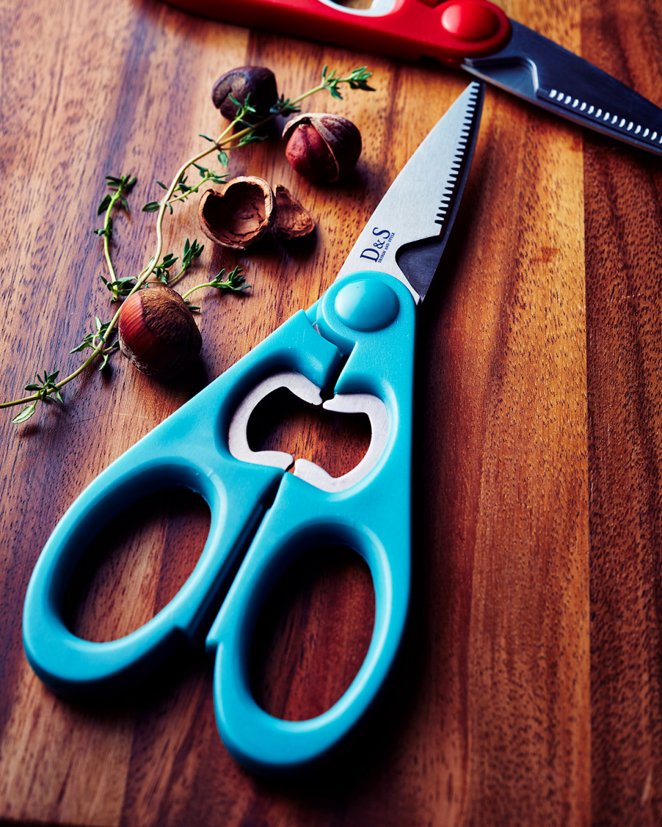 D & S / Teal \nkitchen shears