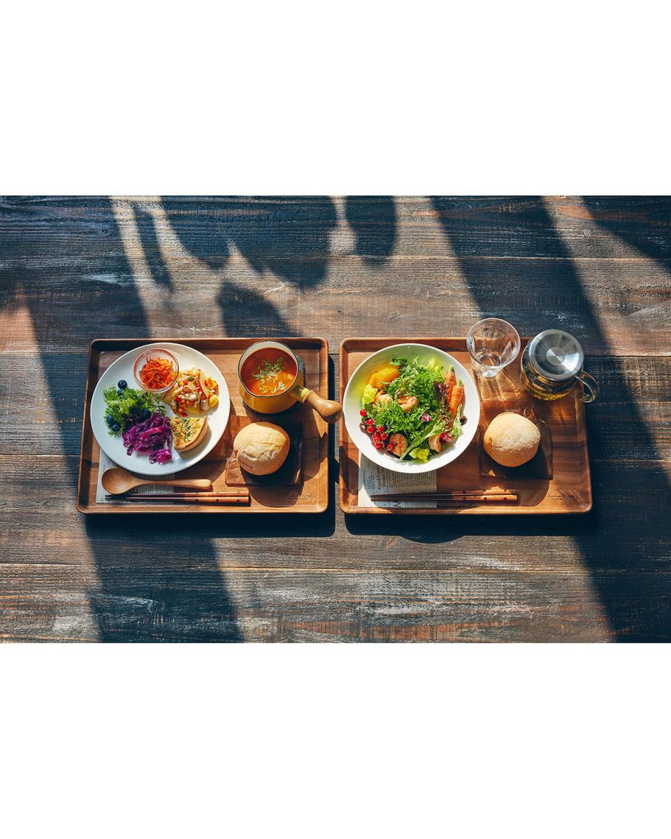 KEVNHAUN / acacia lunch tray L