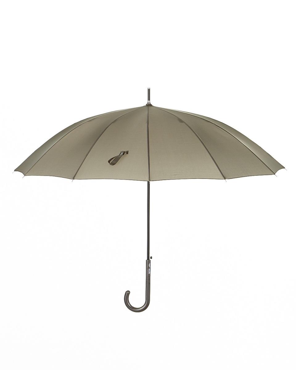 Bronze / gray plain 12 bone length umbrella | WOMEN ○ 405239