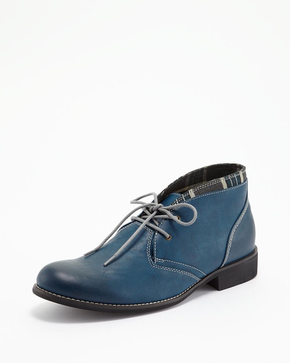抹布时间/海军卡盘靴○470 /男装
