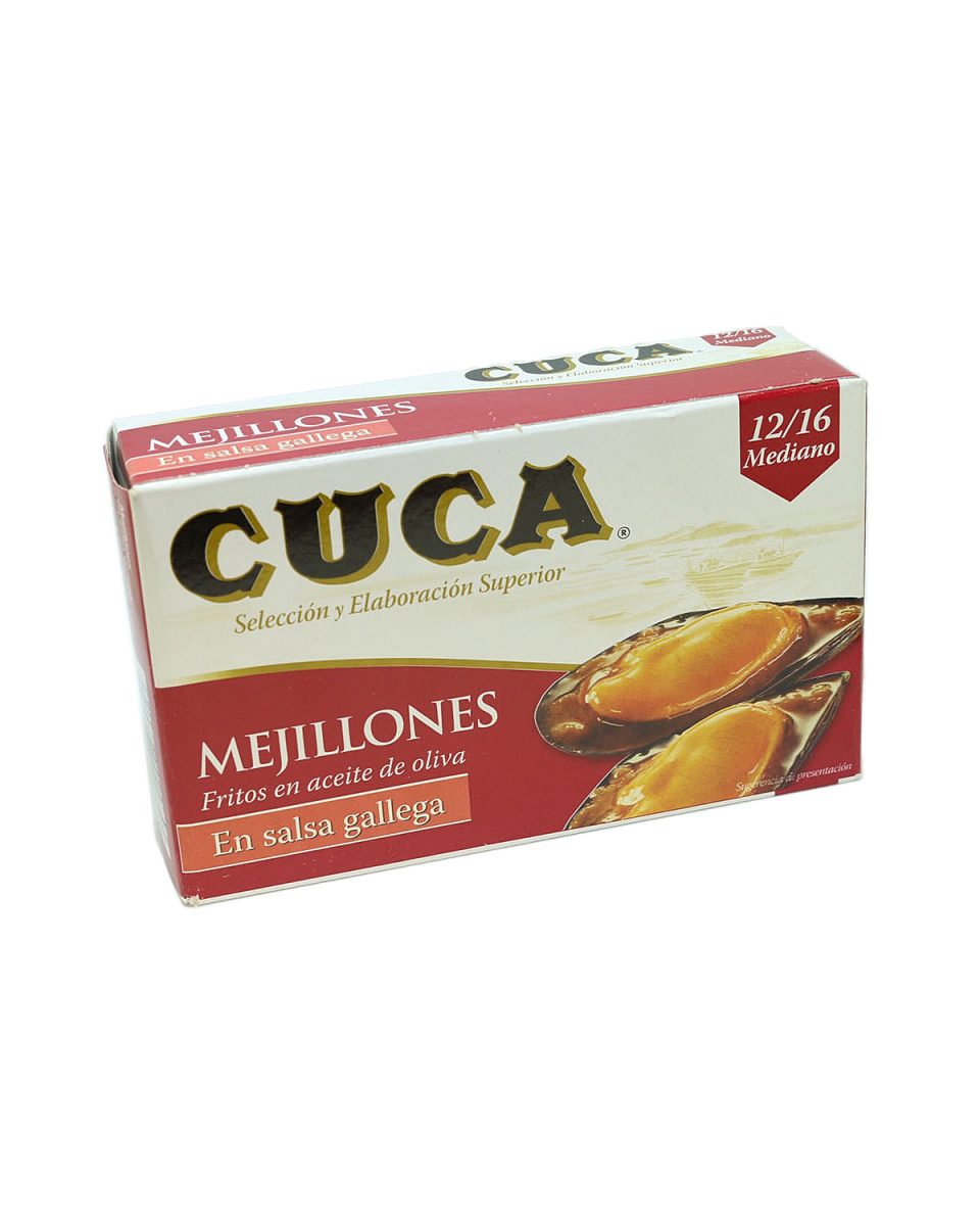 CUCA /加利西亚酱贻贝罐头(大)○ATS-14