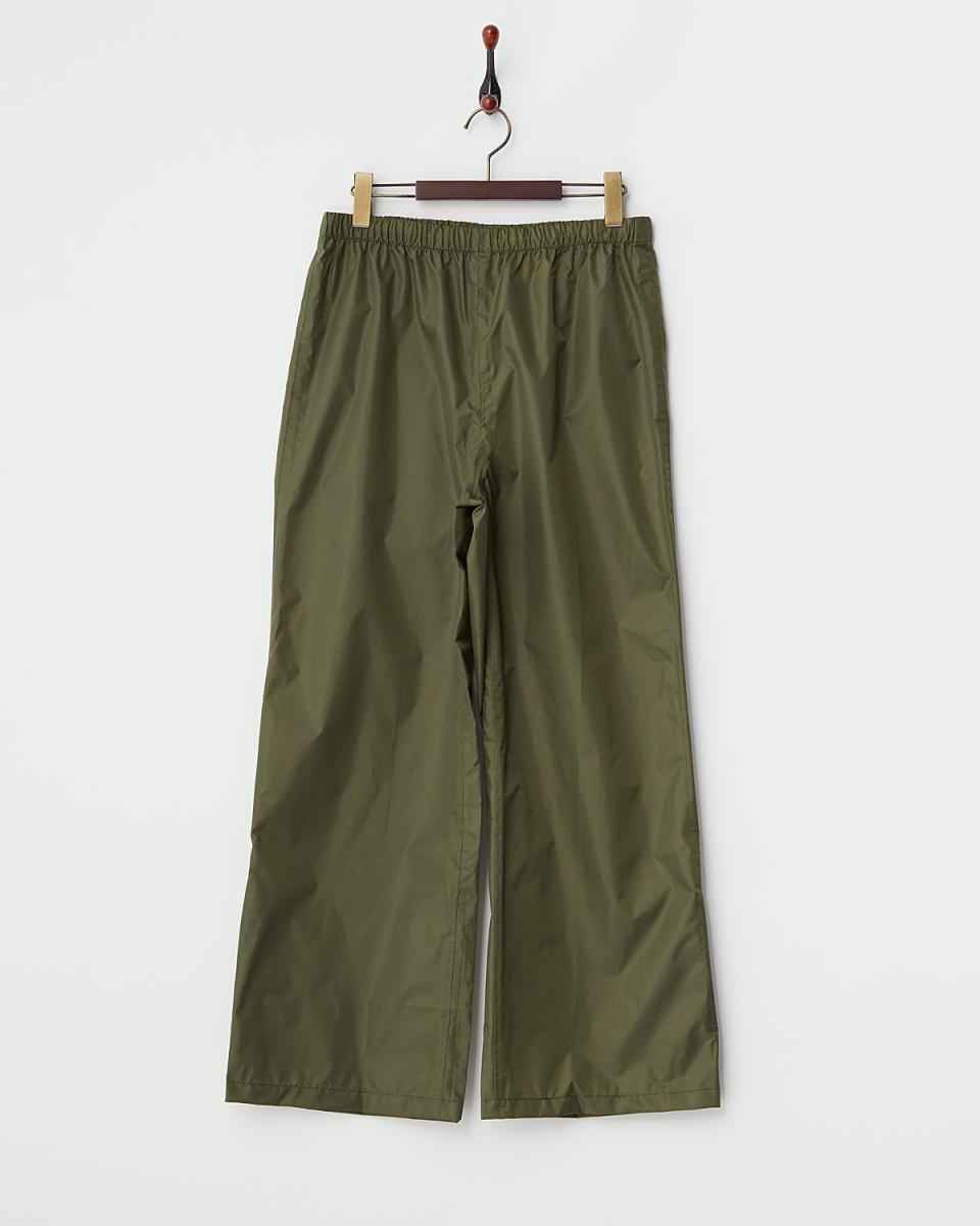 Bronze / khaki plain cycle rain pants | WOMEN