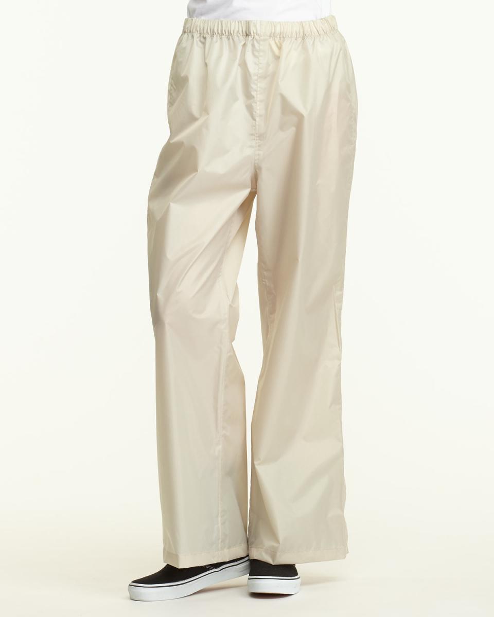 Bronze / beige plain cycle rain pants | WOMEN ○ 532106