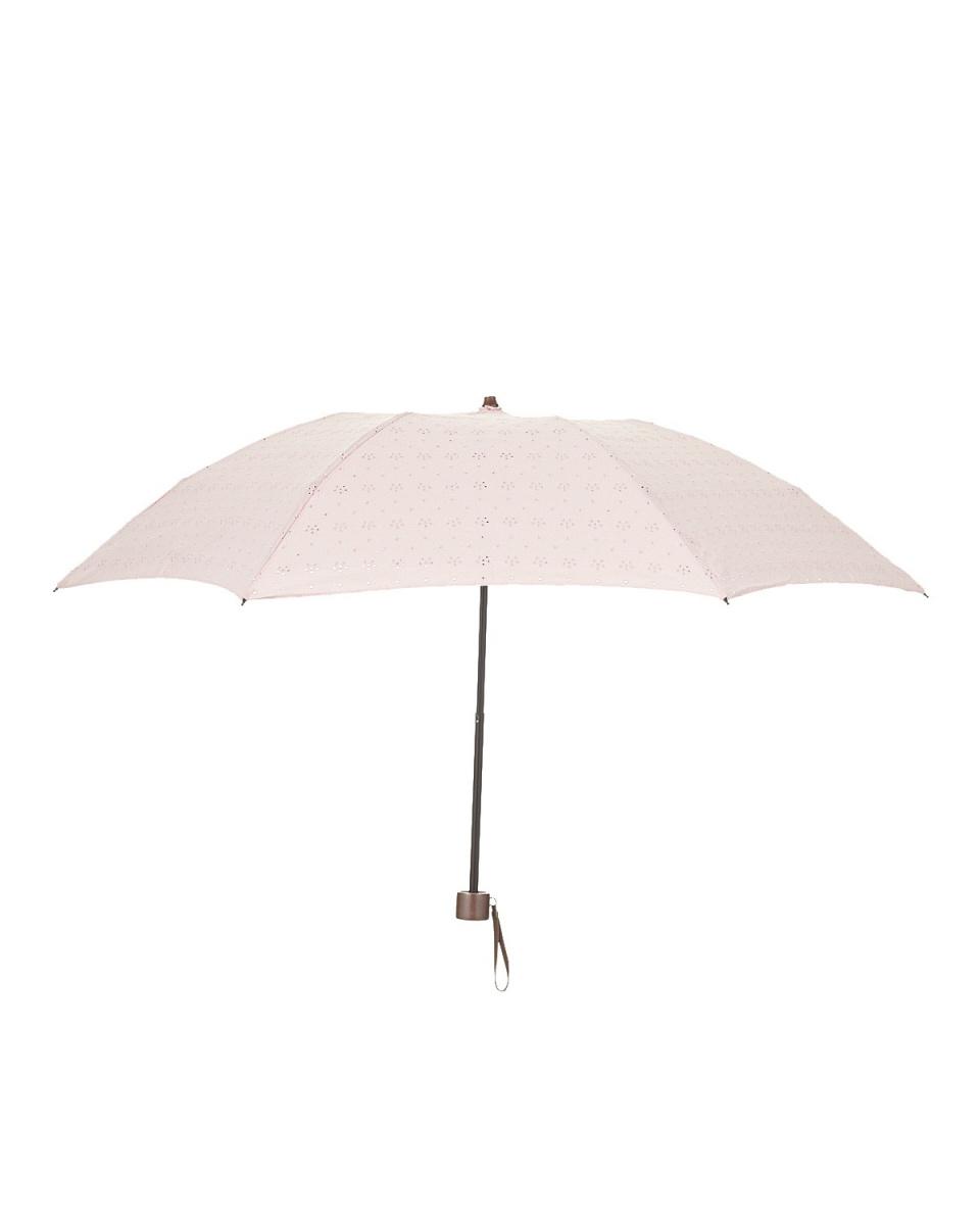 Bronze / pink eyelet embroidery umbrellas mini ○ 492358-122118