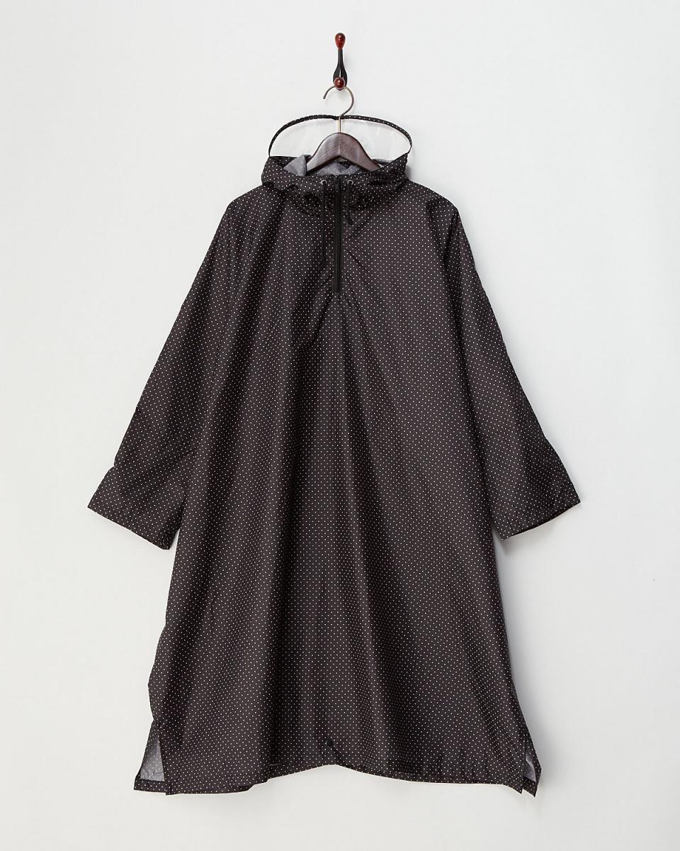 青铜/黑圆点雨披式雨衣○472416