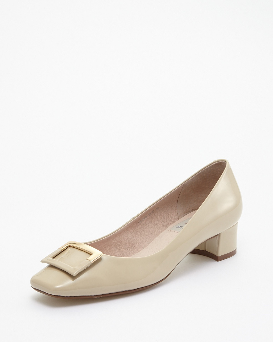 ABOVE AND BEYOND / BGE ornament Sukueatou low-heeled pumps