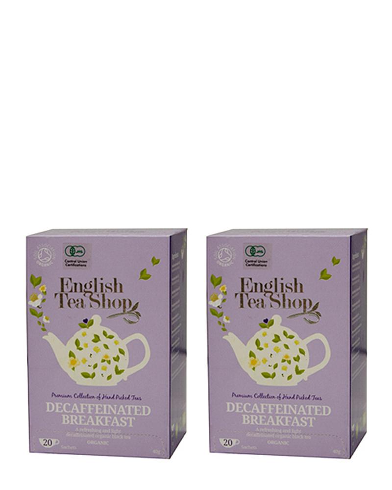 English Tea Shop / decaffeinated breakfast tea bag, set of 2