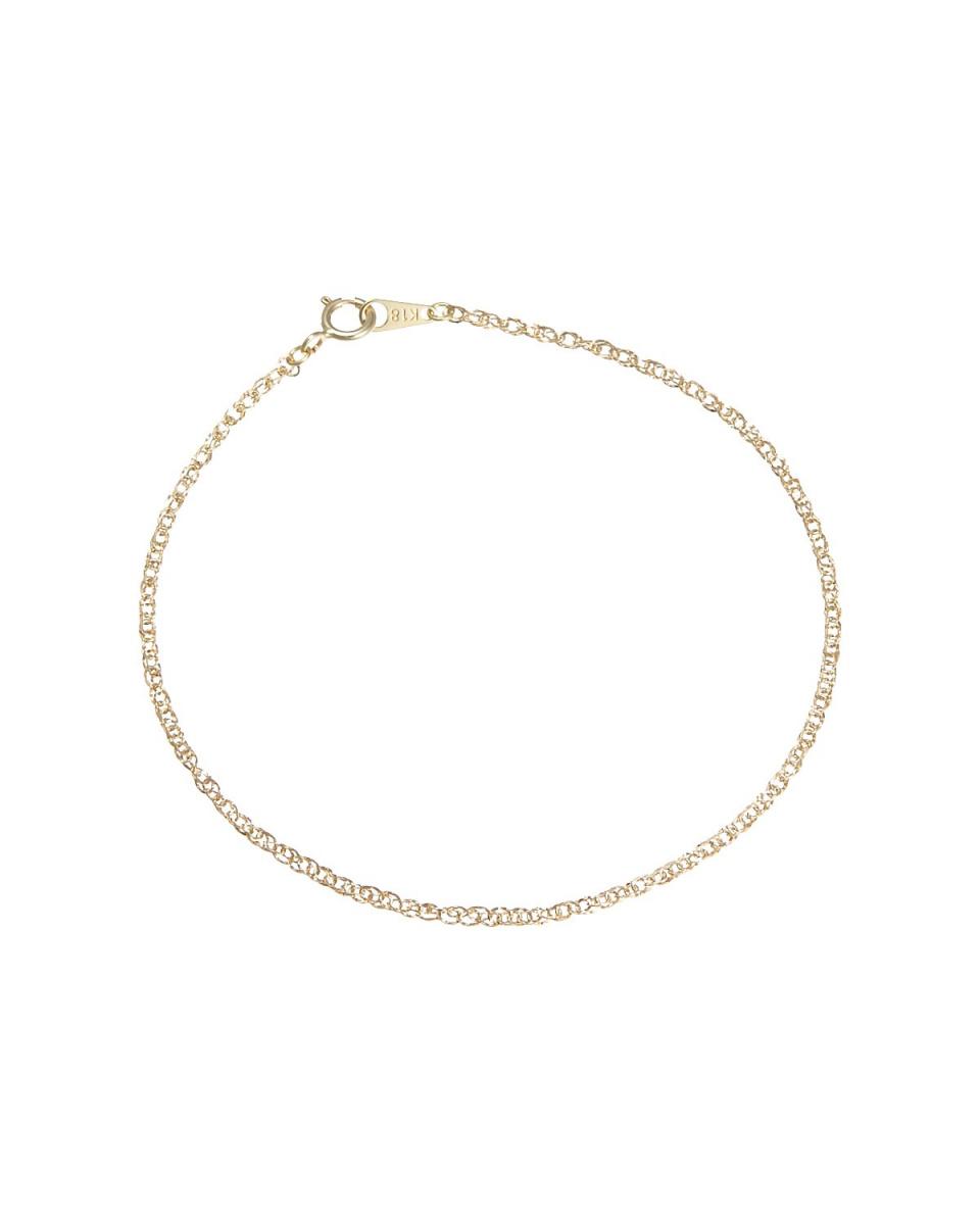 黃金時光Essenza / K18YG變形設計手鍊18厘米○128226 /女裝