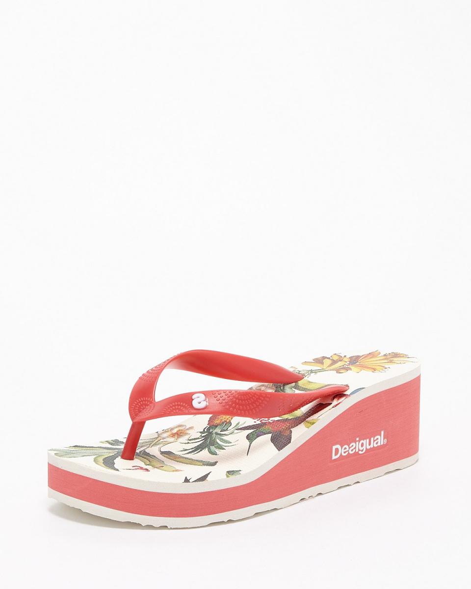 Desigual / pink Lola Colibri sandals ○ 74HSED9 / Women's