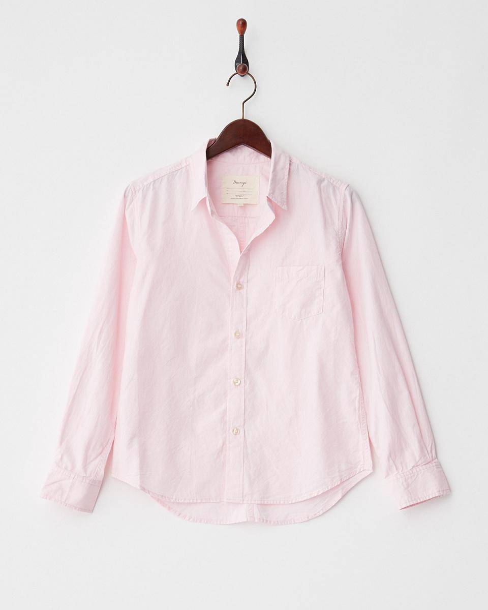 DRWCYS /粉色基本牛年衬衫○71181003 /女子