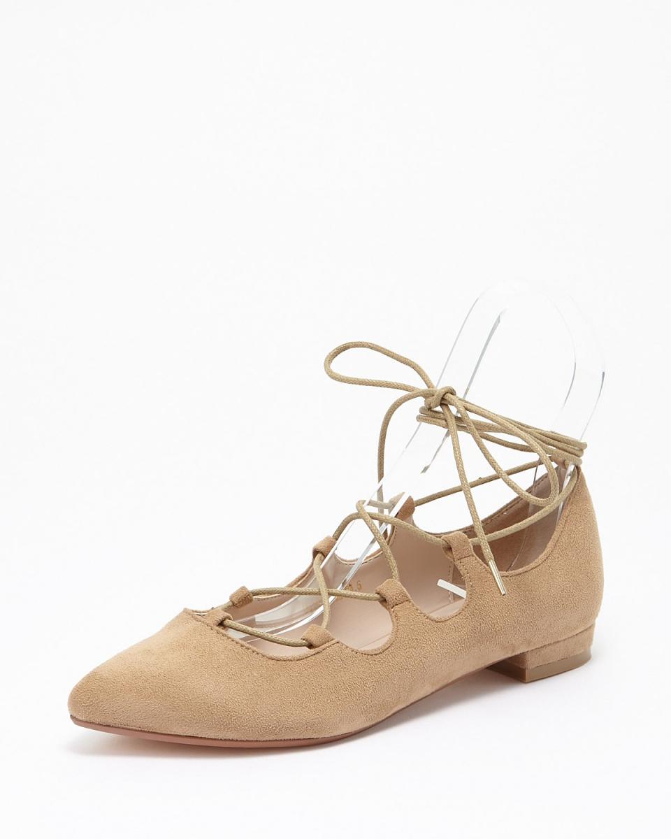 布里奇特的Birkin / BGS绑带尖头皮鞋○561508 /女装