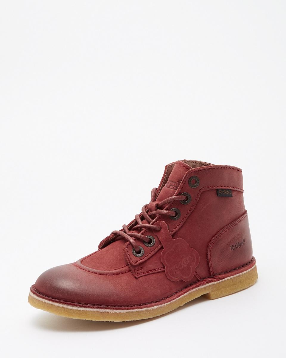 KicKers / burgundy KICK LEGEND work boots (nubuck)
