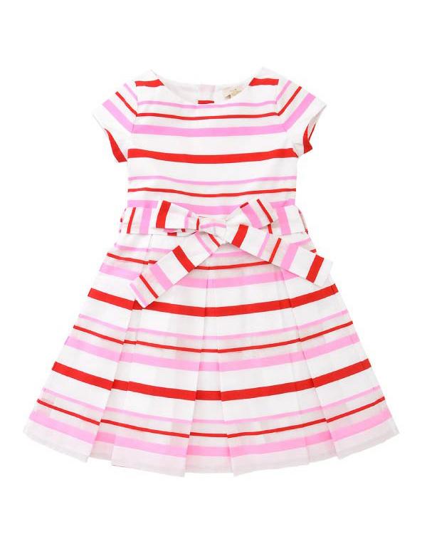 KATE SPADE / ピンクtoddlers' multi stripe dress○8661374 / キッズ&ベイビー
