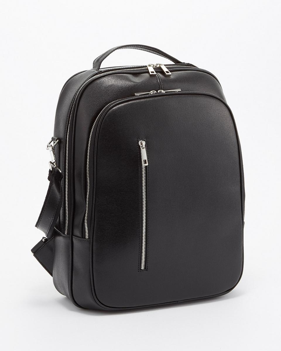 MODE FOURRUURE / black 2WAY backpack ○ MLB-516