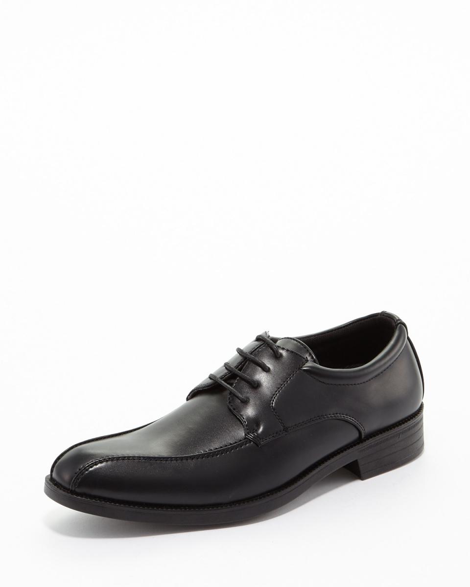头版/黑色仿皮漩涡对企业的鞋○800 /男装