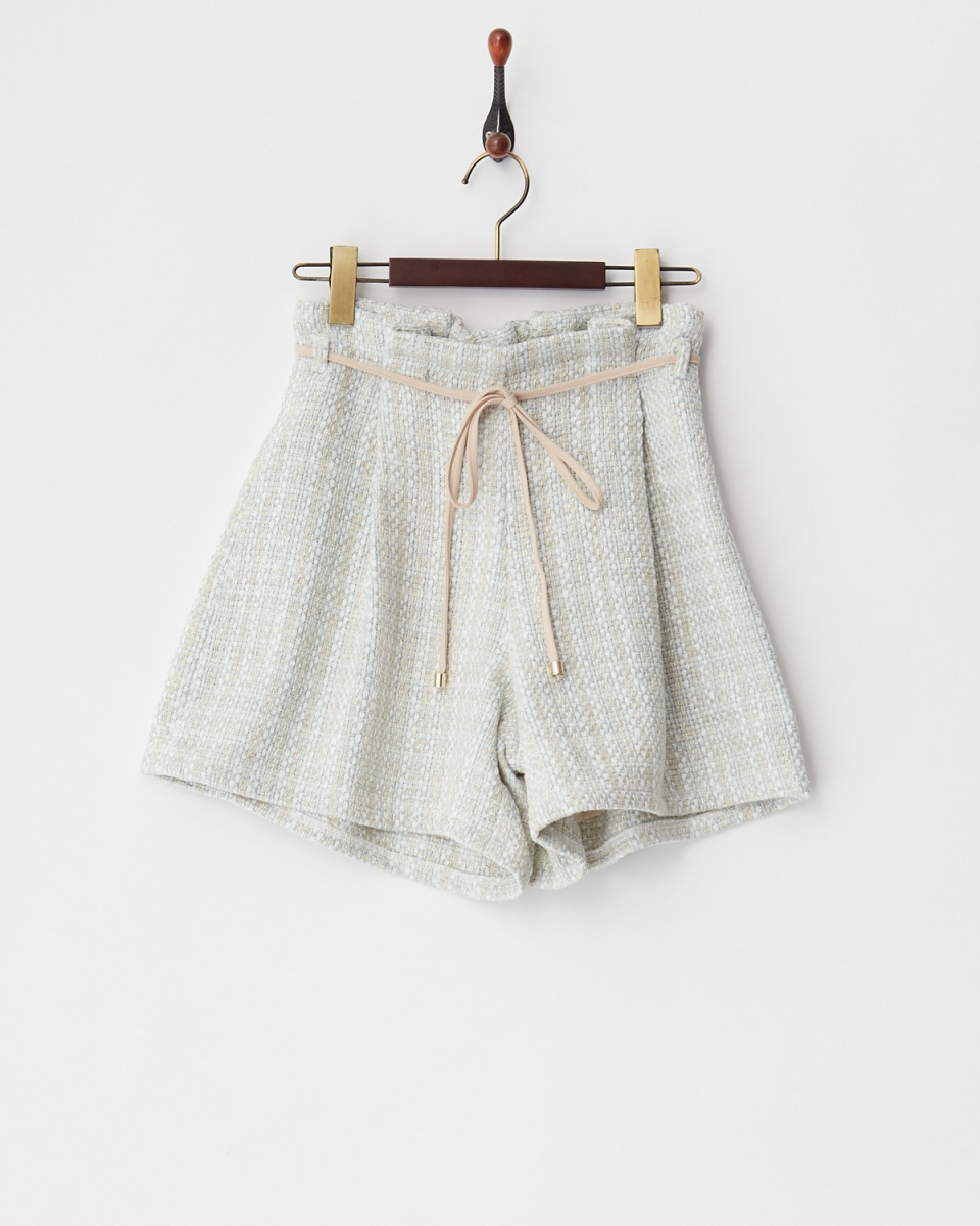 MIIA / BL花呢短裤/女装