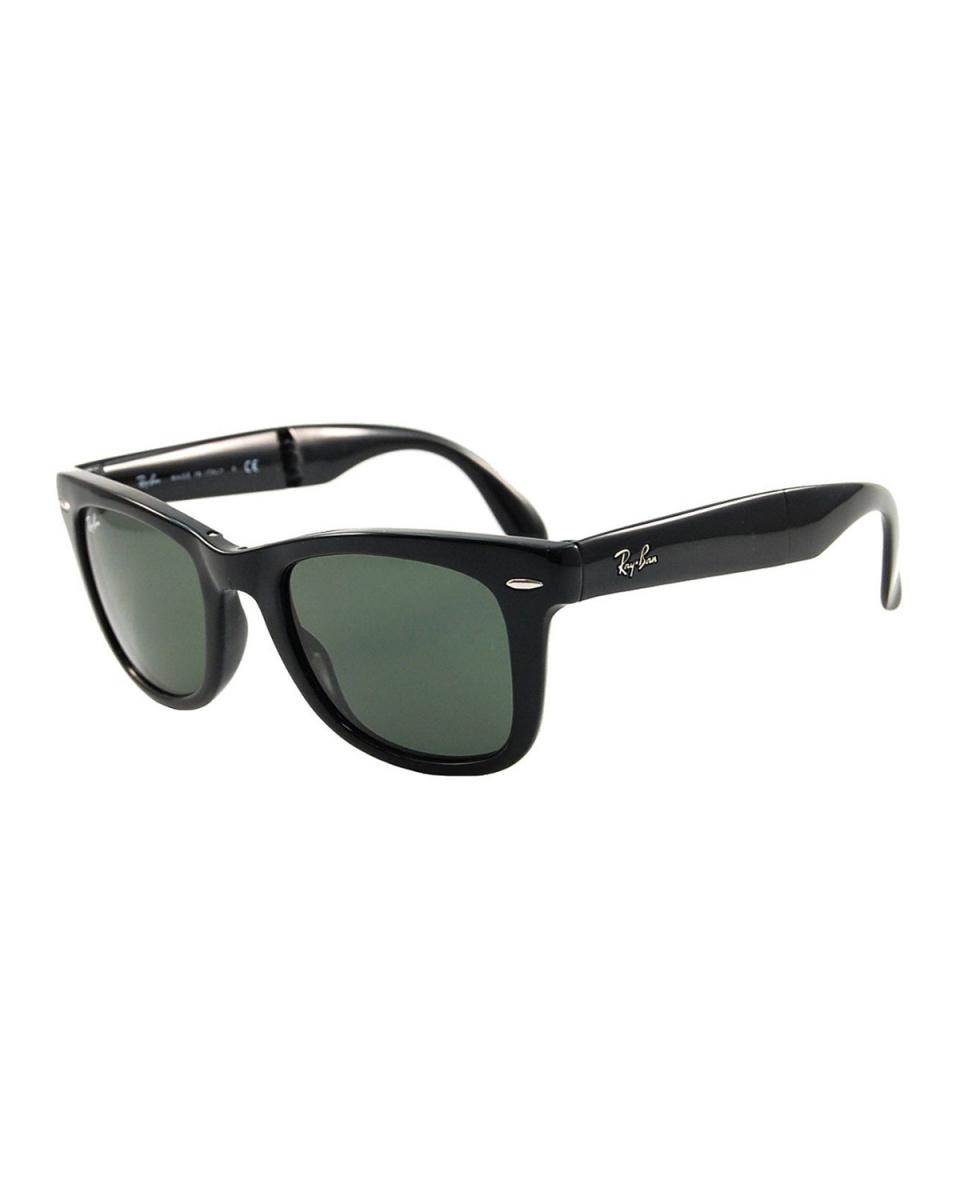 Ray-Ban / black system WAYFARER folding sunglasses mat