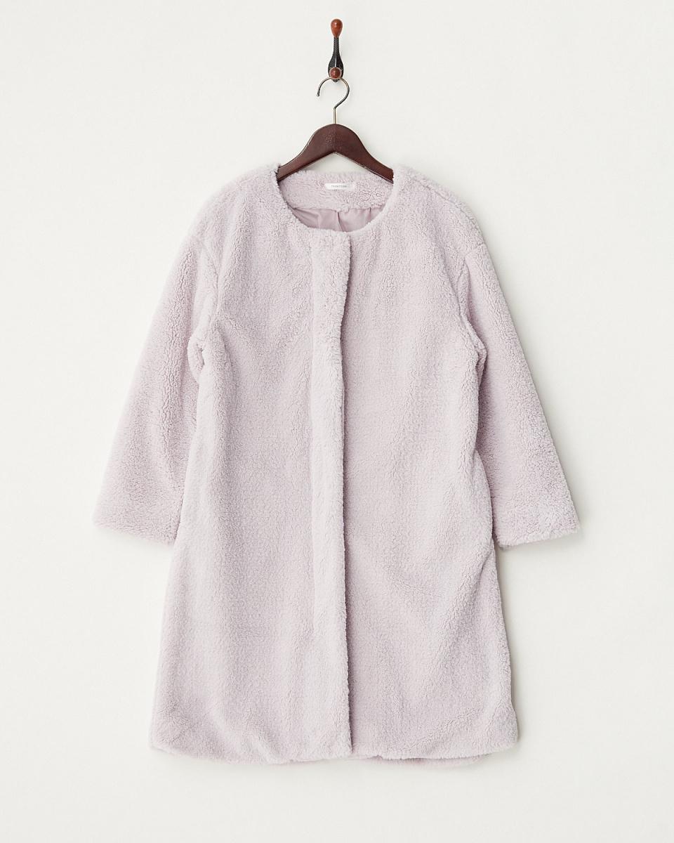 寬敞的/粉紅色纖維孔圓領CT○52940039 /女性