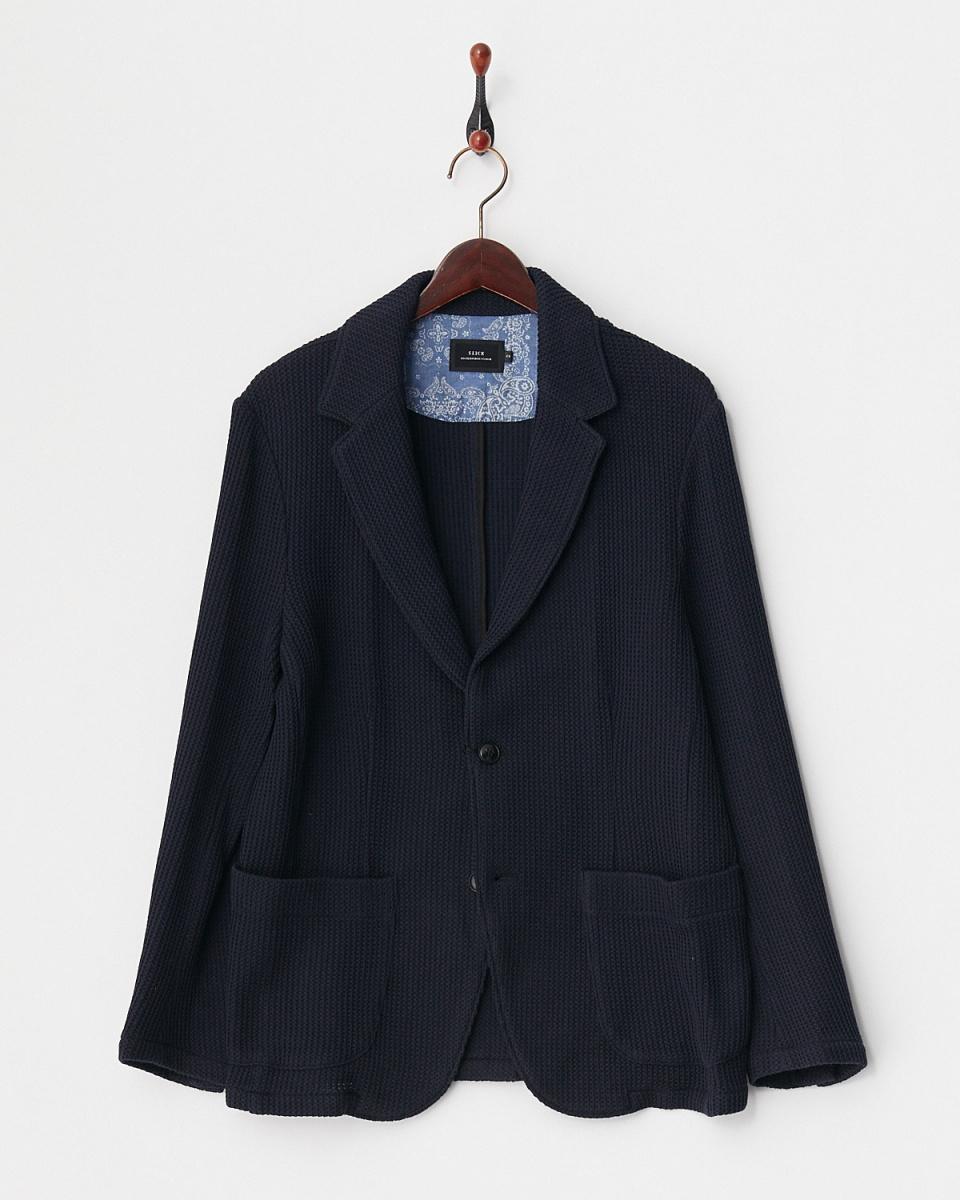 柔滑/ 210链拉塞尔针织西装外套○5155211 /男装
