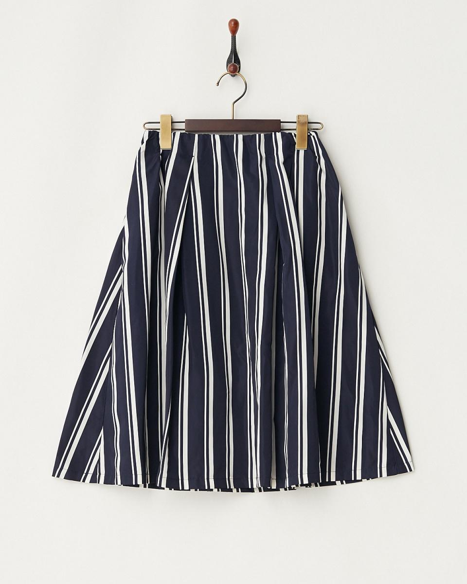 LucyPearl / navy stripe skirt / Women's