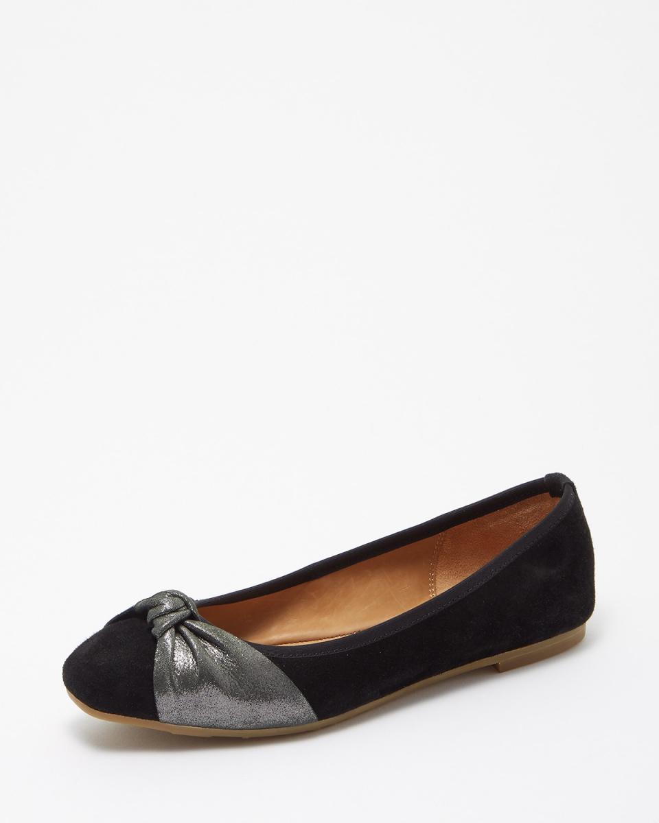 超出/ BLS結絲帶廣場腳趾芭蕾舞鞋