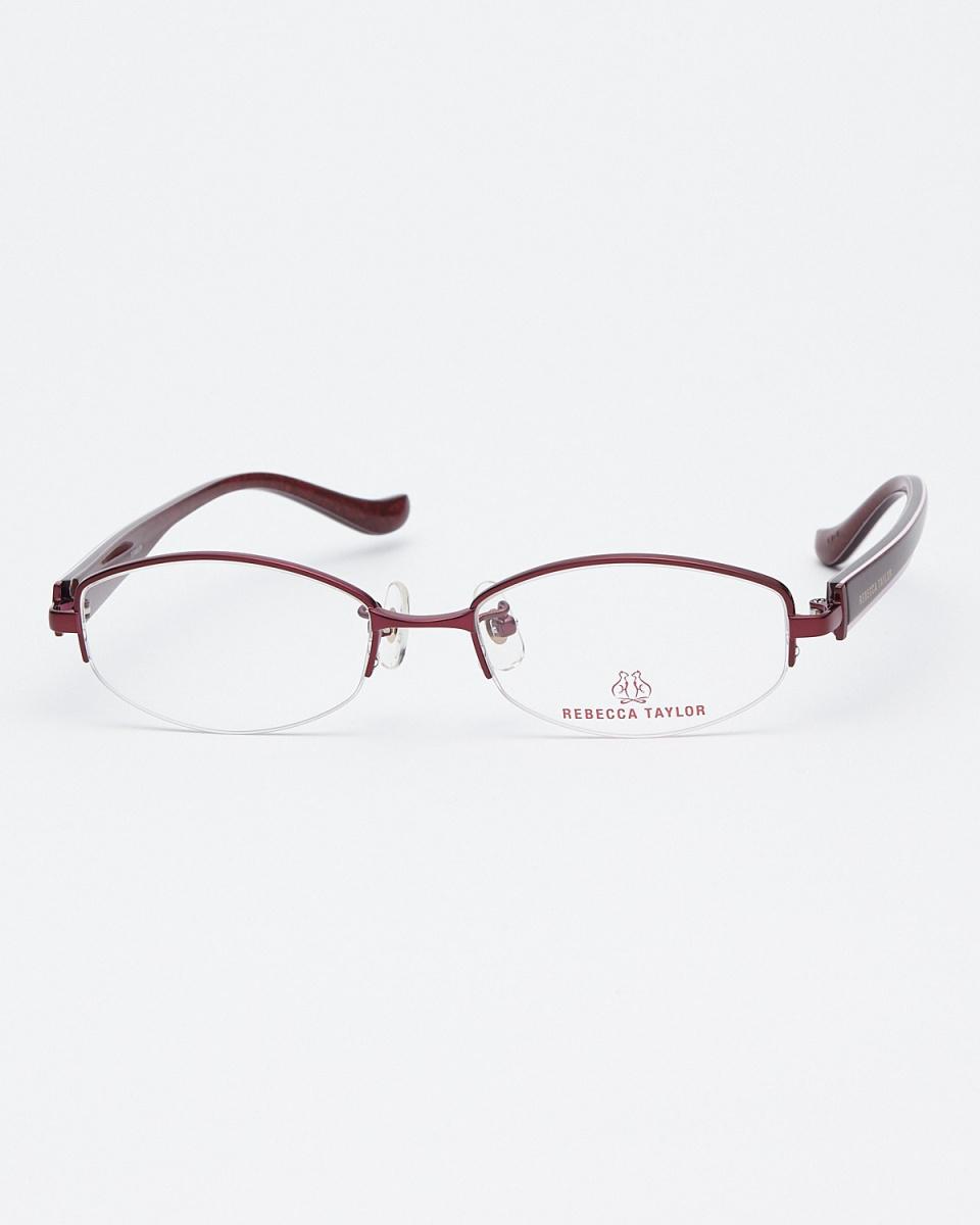 麗貝卡·泰勒/紅色半框眼鏡|女