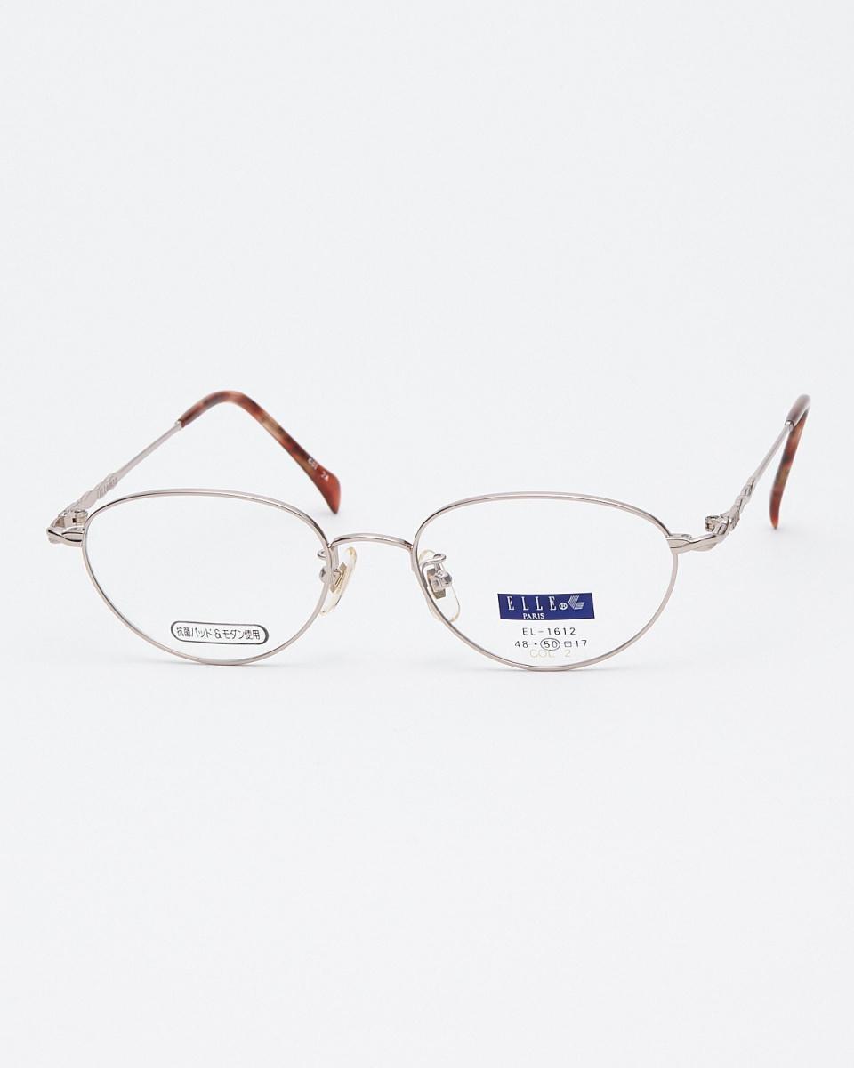 EL /粉紅色波浪寺橢圓形眼鏡|女