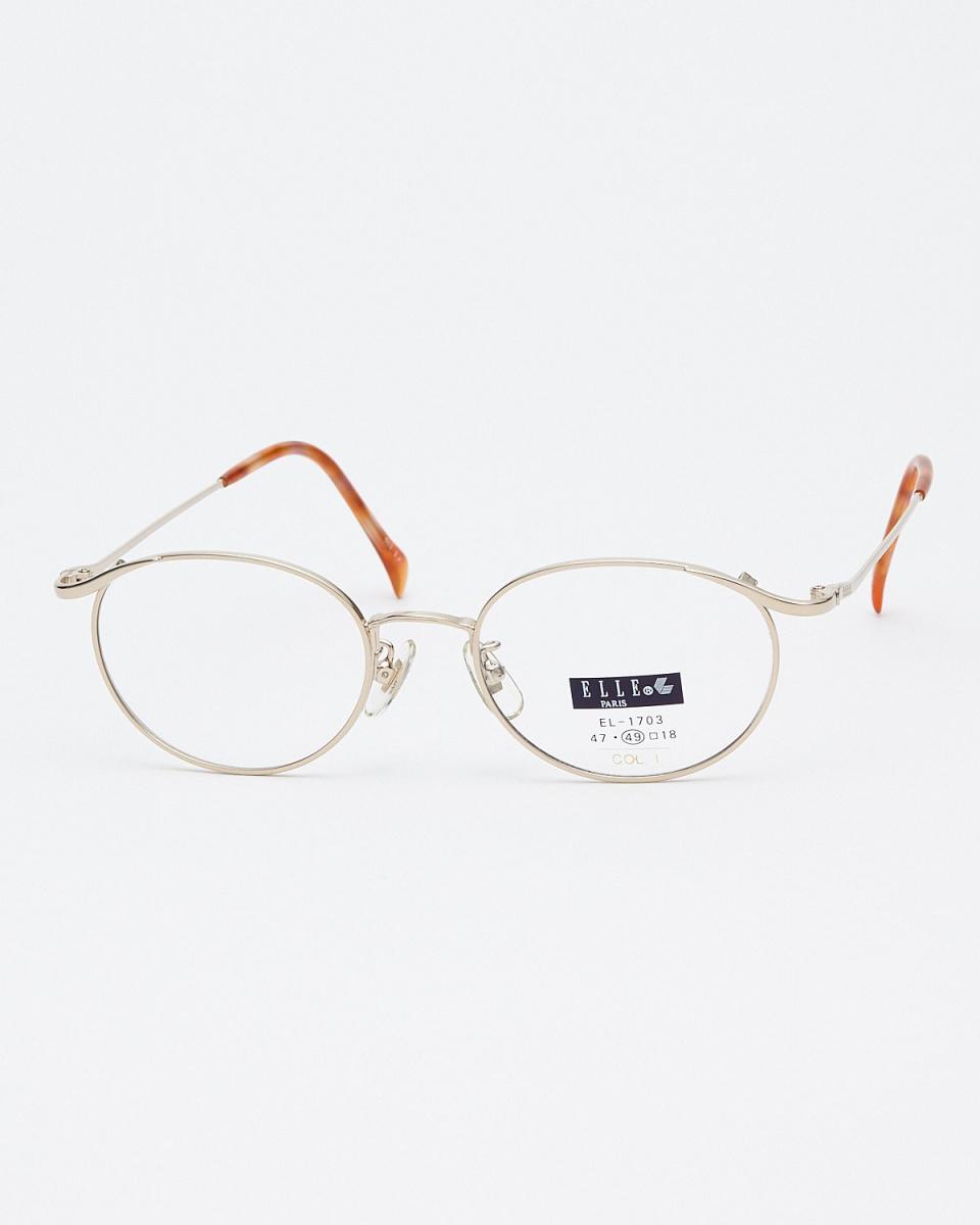 EL /金波士頓型金屬框架眼鏡|女性