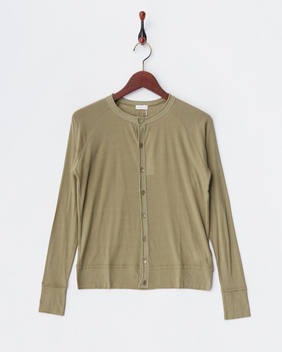 GALERIE VIE / beige gauze crew neck C / D ○ 23037203302 / Women's