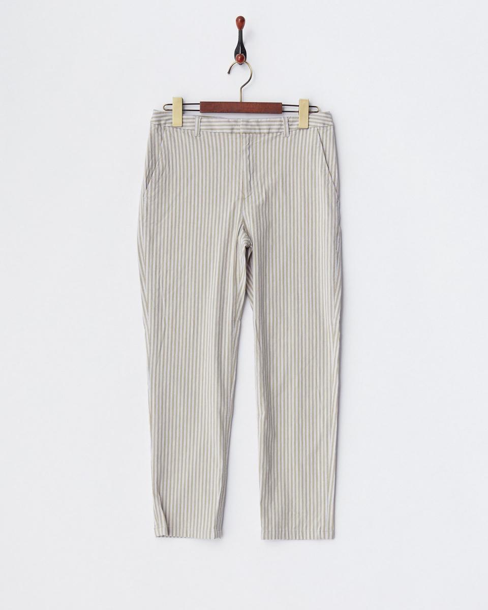 GALERIE VIE / gray-based CL stretch slim pants ○ 23047204408 / Women's